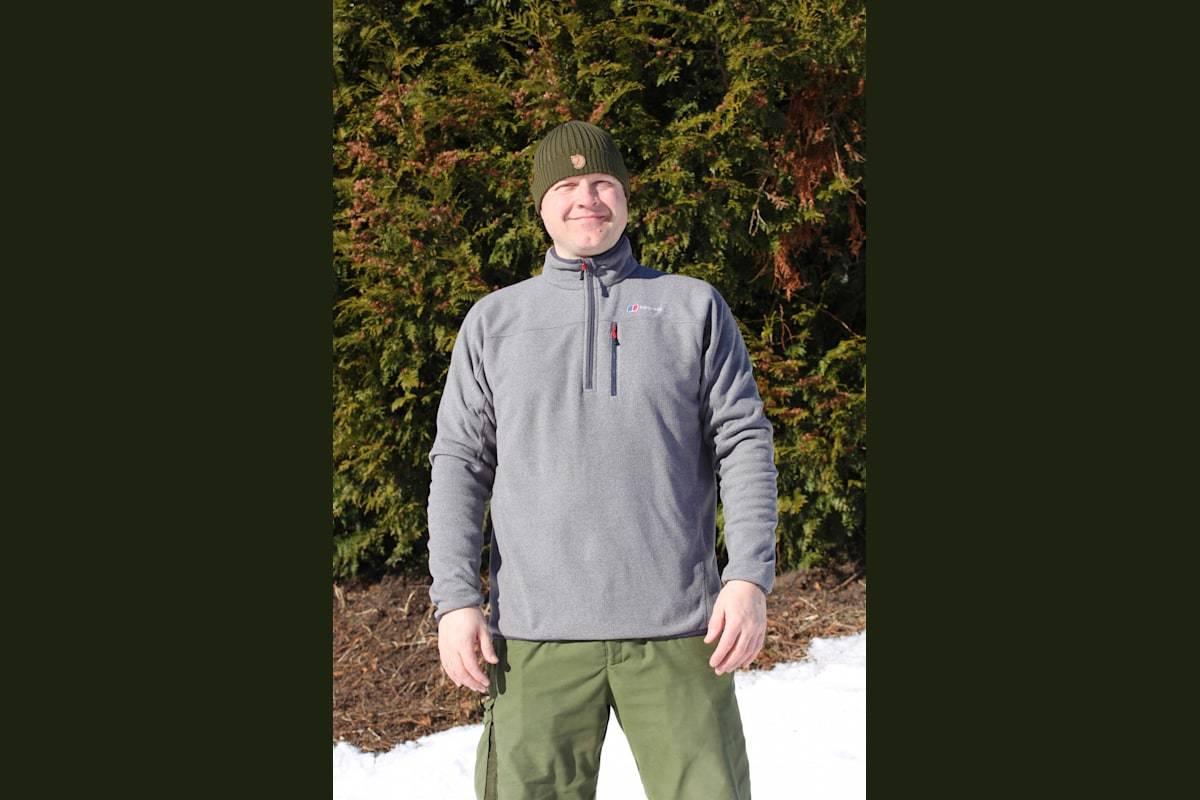 RIMELIG: Berghaus Stainton er en helt grei genser til en ok pris.