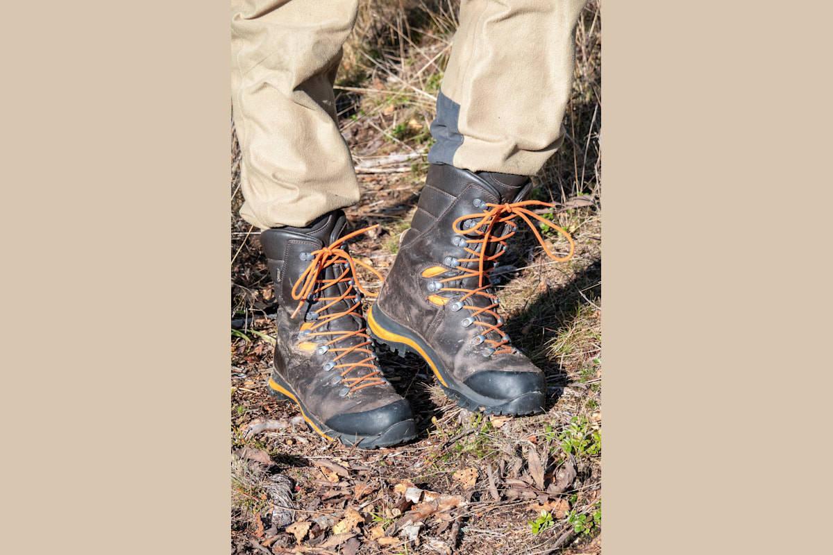 God støtte: Riserva er et godt og greit prisa alternativ hvis du er på utkikk etter høye jaktstøvler.