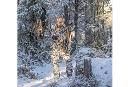 Jakt som inspirasjon:  Selv om Torstein Storaas er professor med mye kunnskap om skogsfugl, er han også en meget ivrig jeger etter sorten.