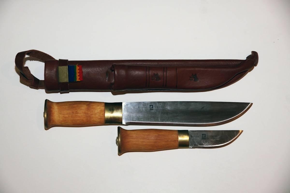Det er ikke mange dobbelkniver, men Strømeng sin variant er slett ikke verst. Foto; Cato Hemmingby