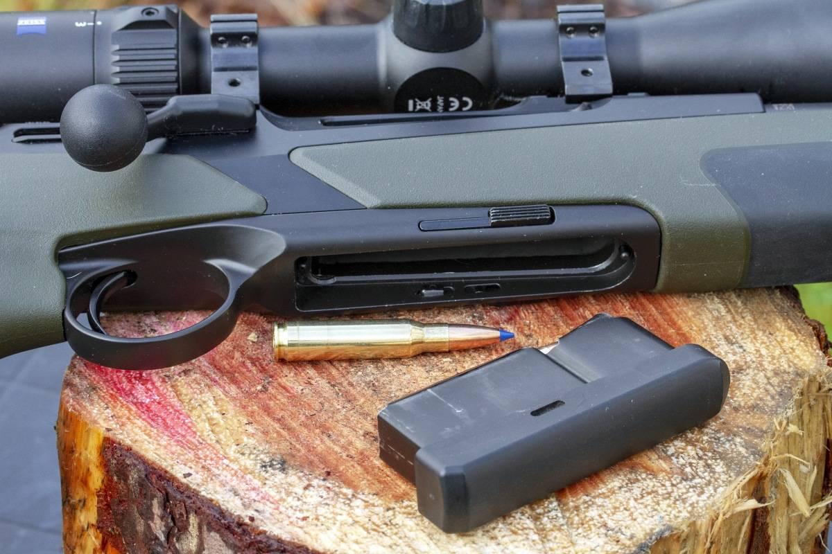 Gjennomtenkt: Merkel RX Helix Speedster byr på mange gjennomtenkte løsninger som gjør det til ei trygg og rask rifle.