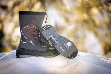 Smal utforming: Vinterstøvelen har en relativt smal utforming som gjør at den passer fint til hverdags.