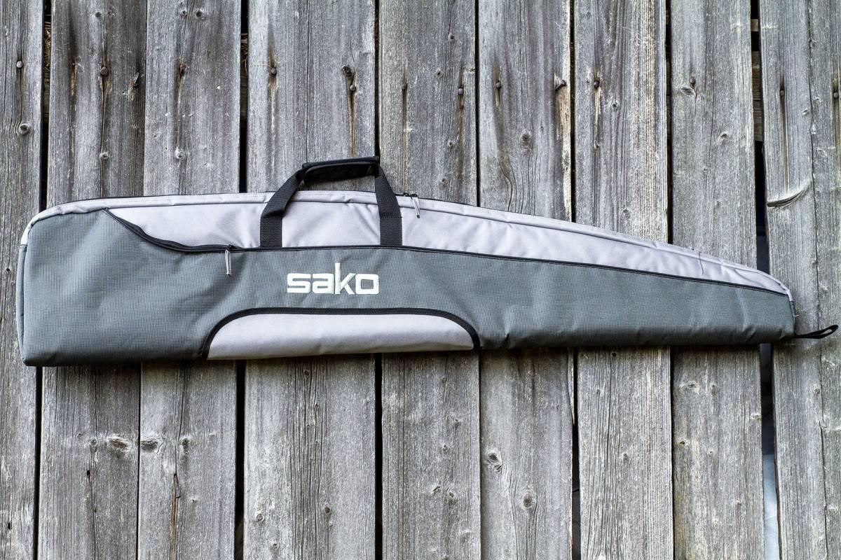 Test av Sako riflefutteral.