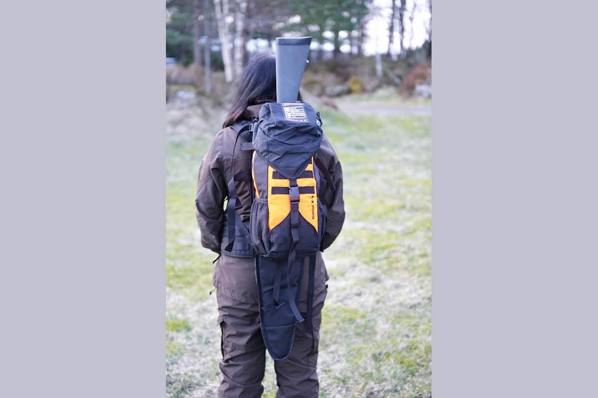 Test av Neverlost AddOn Backpack Scout.
