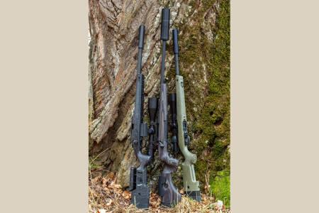 Test av rifler, nye rifler, salongrifle, justerbar stokk