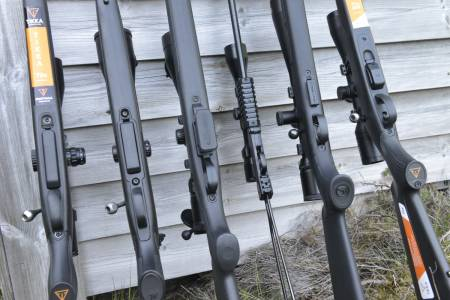 Rifle til fuglejakt, rifler, jakt på fugl med rifle