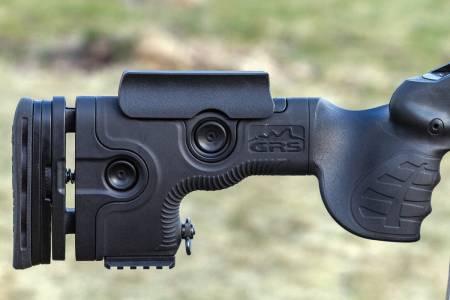 GRS Warg: Warg passer til langholdsskyting, med bratt grep og gode justeringer.