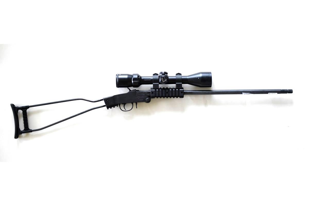 Test av Chiappa Little Badger Survival Rifle.