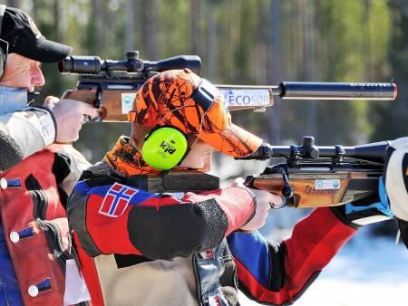 Skytekonkurranse jaktfelt. Foto: Vidar Nilsen / NJFF
