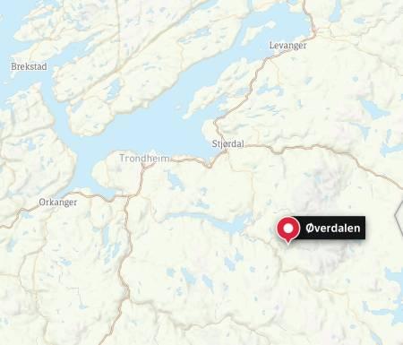 Mannen ble funnet ved Selbu, ikke langt fra Schultzhytta.