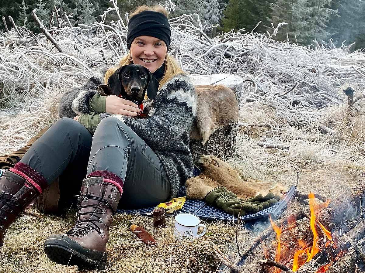 Jegerjentene Amalie Bjorøy jakt