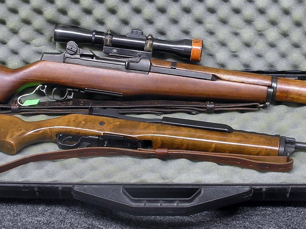 M1 Garand, Ruger Mini 14, våpenlov, halvauto rifle