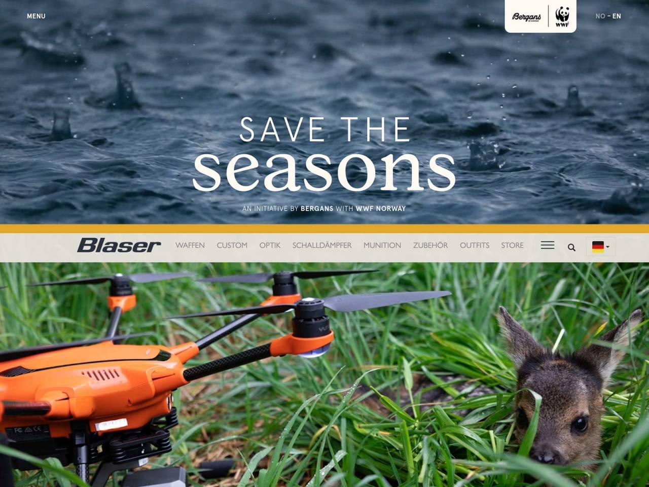 Blaser, Bergans, Save the seasons, rådyrkje