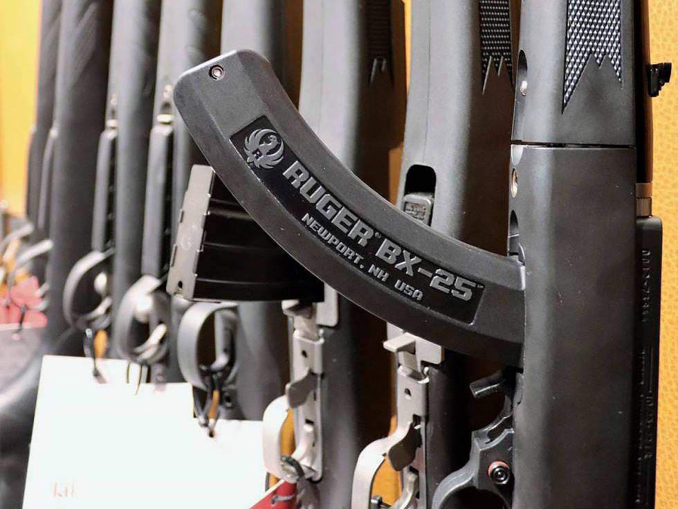 halvautomatiske rifler våpenlov våpenforskrift
