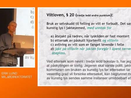 bruk av termisk utstyr, Miljødirektoratet, Erik Lund