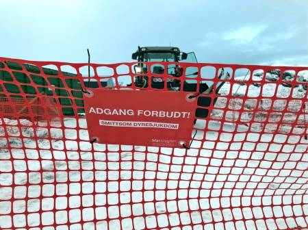 Mattilsynet stengte ned i Nordfjella skrantejsuke skrantesyke