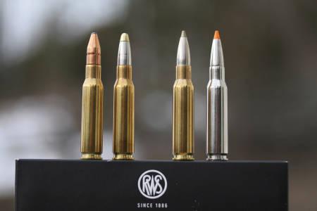 test riflepatroner, RWS, ammunisjon