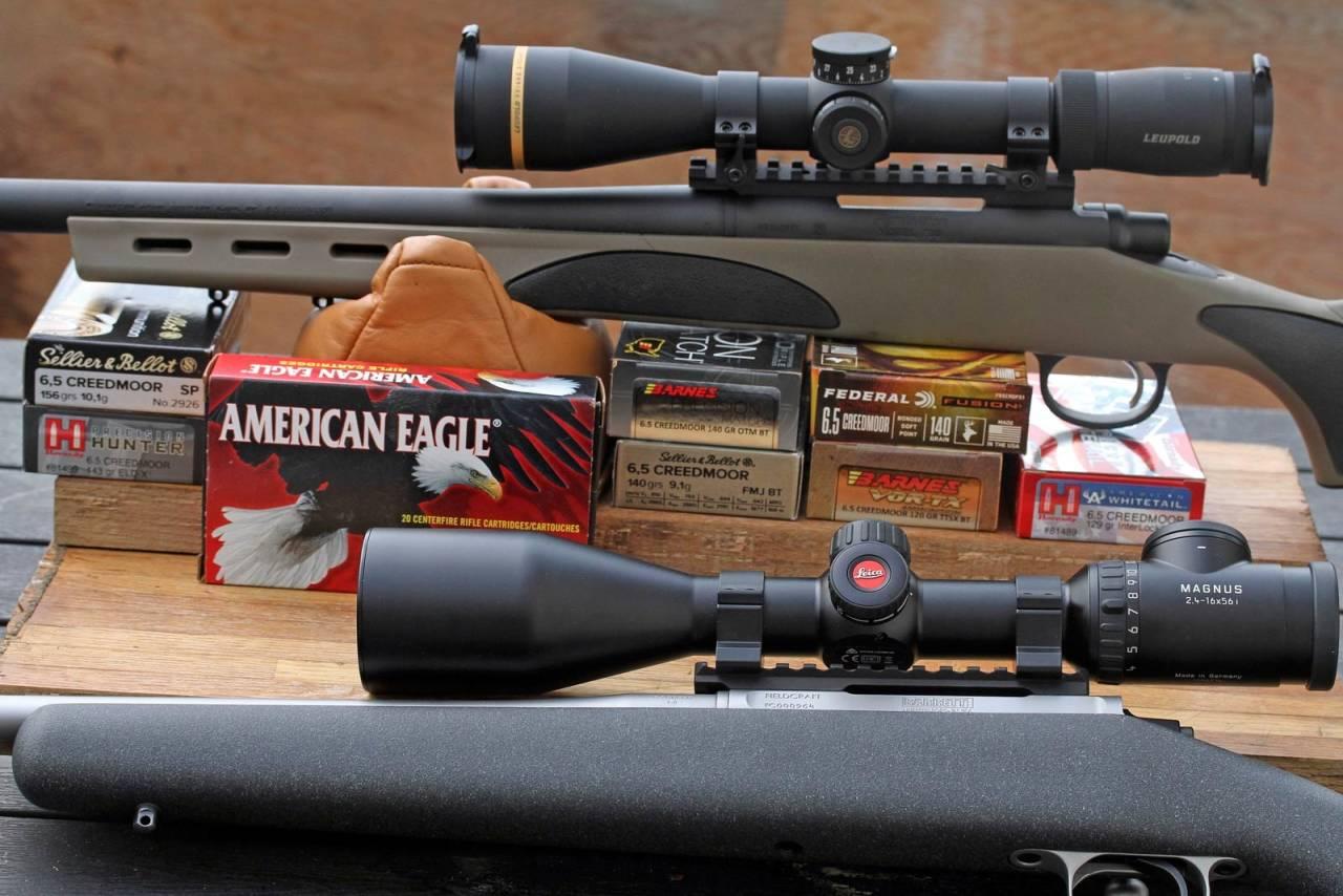 Presise verktøy: Både Remington og Barrett Field Craft bød på god presisjon i det de fikk servert av kaliberet 6,5 Creedmoor.