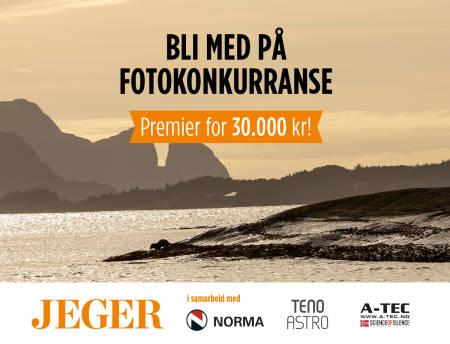 Oter på skjær ved Kinnaklova i skjærgården ved Florø i Kinn promo JEGER fotokonkurranse Foto: Åsgeir Størdal