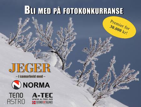 Bli med på JEGERs store fotokonkurranse og vinn ei Bergara-rifle! (Foto: Åsgeir Størdal)