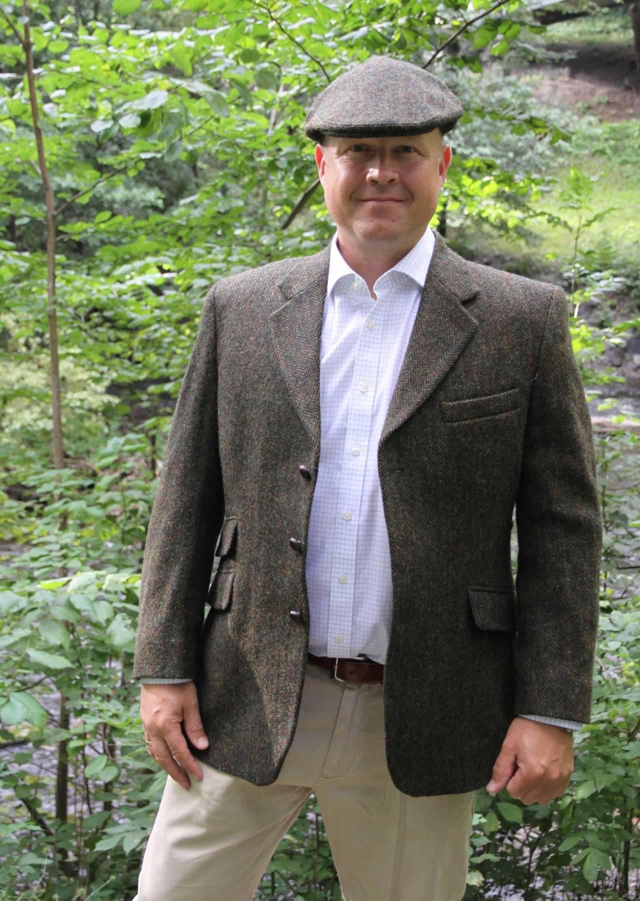 Stasplagg: Harris Tweed benyttes i bøtter og spann på de britiske øyer, både til jakt og i hverdagen.