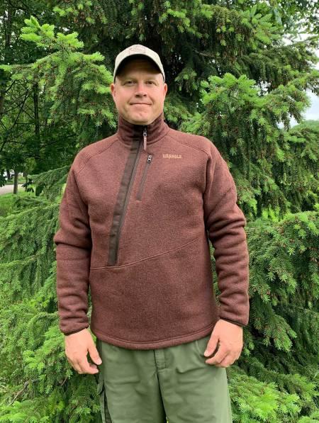 Godkjent: Härkila Nite HSP genseren er et godt valg så lenge det ikke er nedbør.