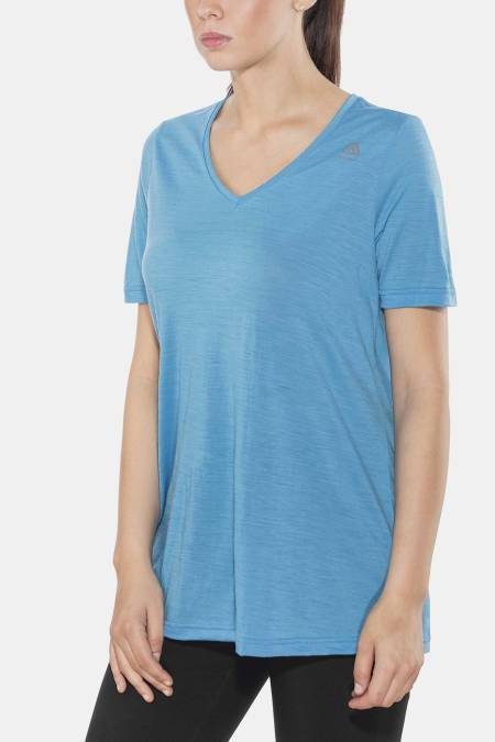 Lett og ledig: Ledig passform på t-skjorten gjør at den oppleves ekstra luftig på varme dager.