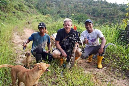 Jaktreise Asia, villsvinjakt Malaysia, jakt i jungelen.