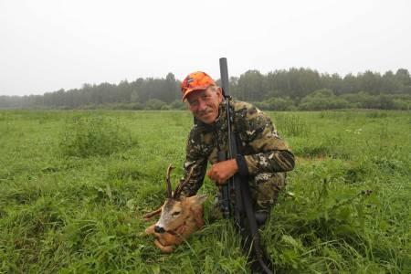bukkejakt i Latvia