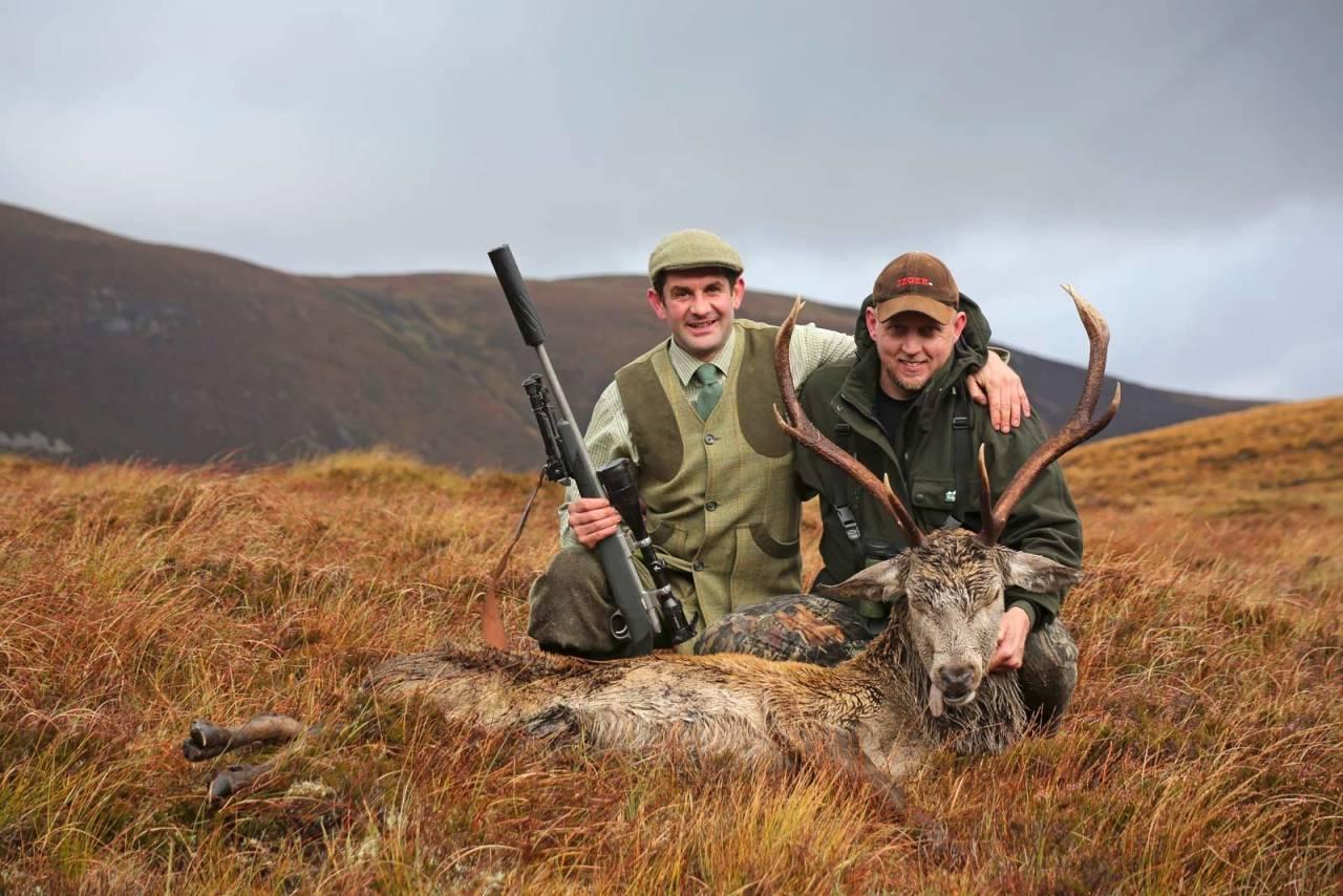 Vel unt: Alle hjortejegere bør unne seg en tur til det skotske høylandet for å oppleve jakt der i høybrunsten.
