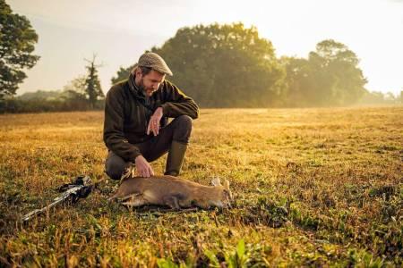 Jakt på muntjak i England. Foto: Hans Berggren