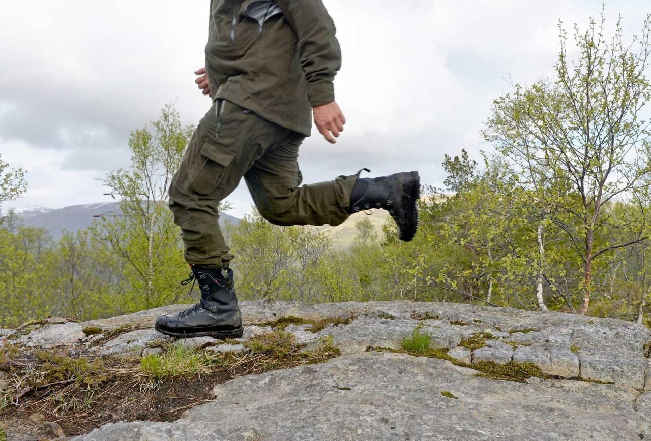 Test, lette jaktstøvler,