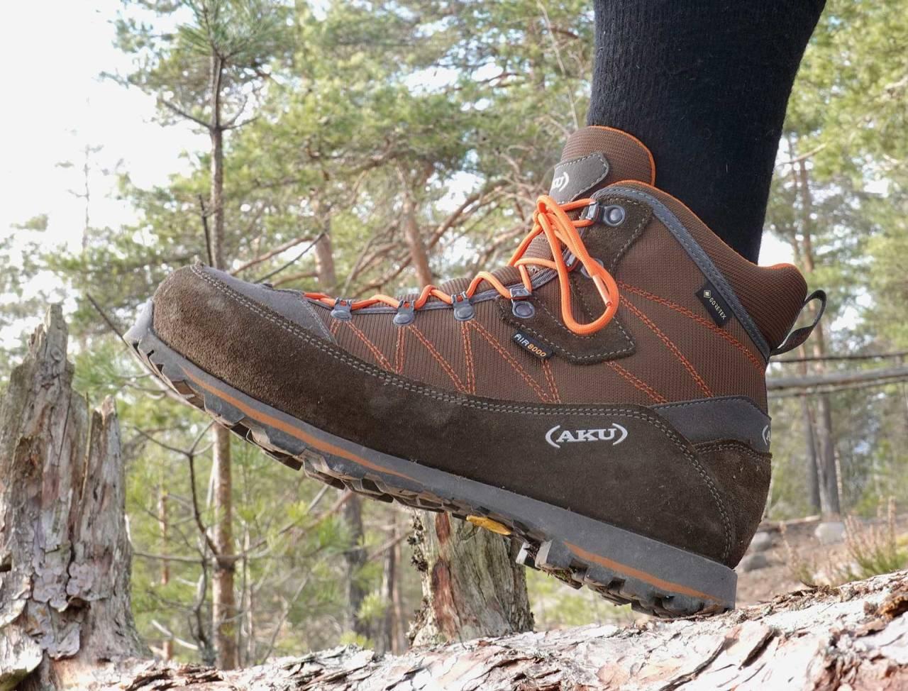 Stødig valg: Aku Tana er meget stødige jaktstøvler, til tross for at de er lette og halvhøye.