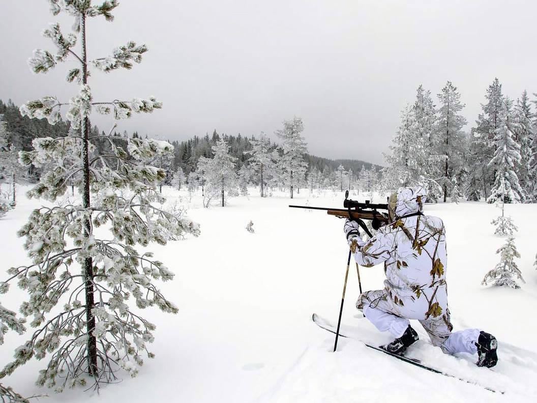 Jaktski er bra når du jakter på vinteren. Foto: Wemunn Aabø / JEGER
