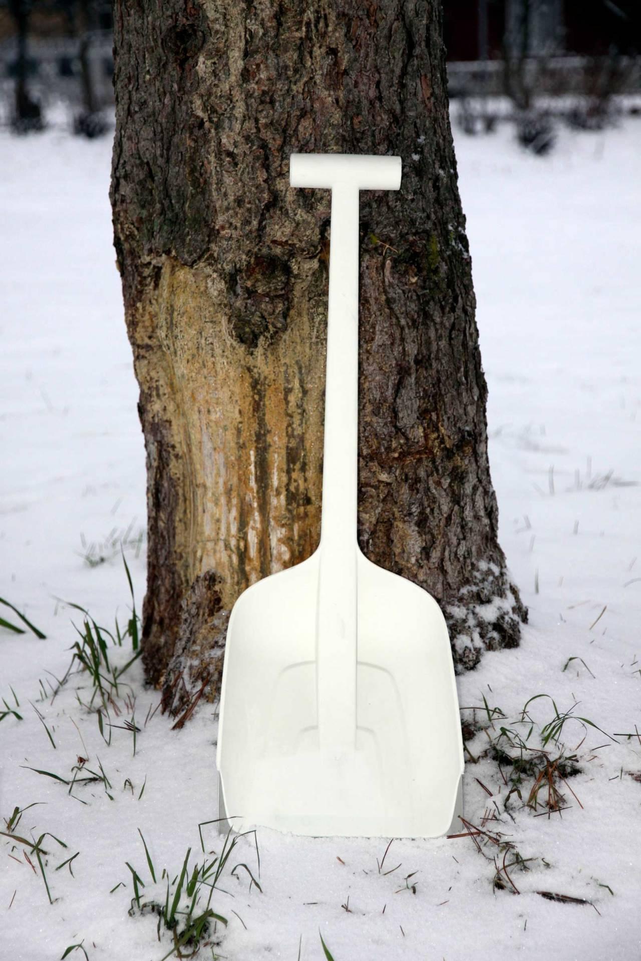 Stabil: Fiskars SnowXpert gjør jobben om du må grave deg ned på vinterfjellet.