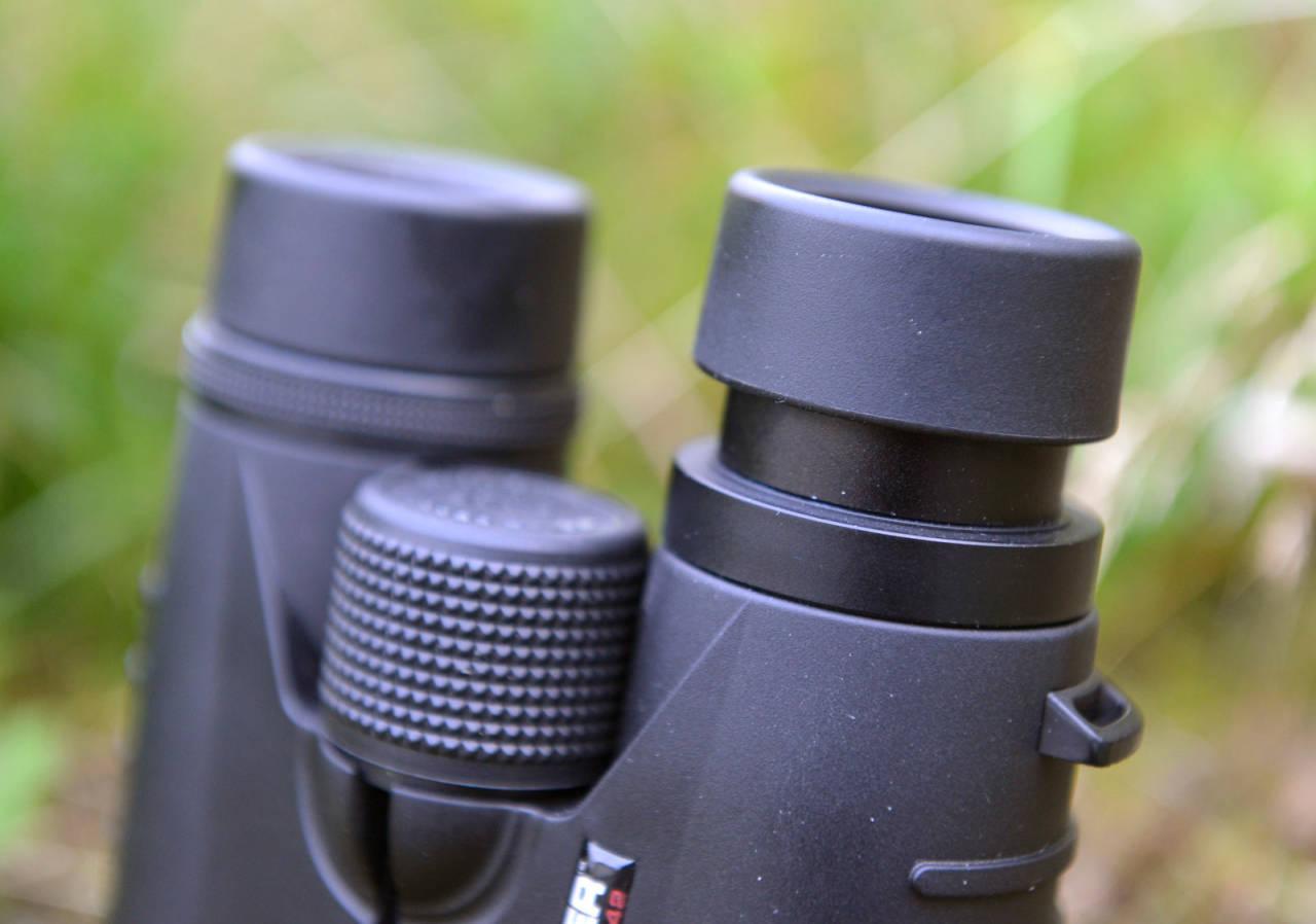 KVALITET: Breitler Hunter vekker tillit, både fysisk og optisk. Okularringene låser kontant og kommer ikke ut av stilling selv når man presser ganske hardt.