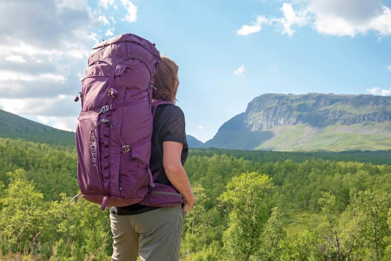 For langturen: Med 75 liters volum er Explore en romslig sekk til lange jakt- og fjellturer.
