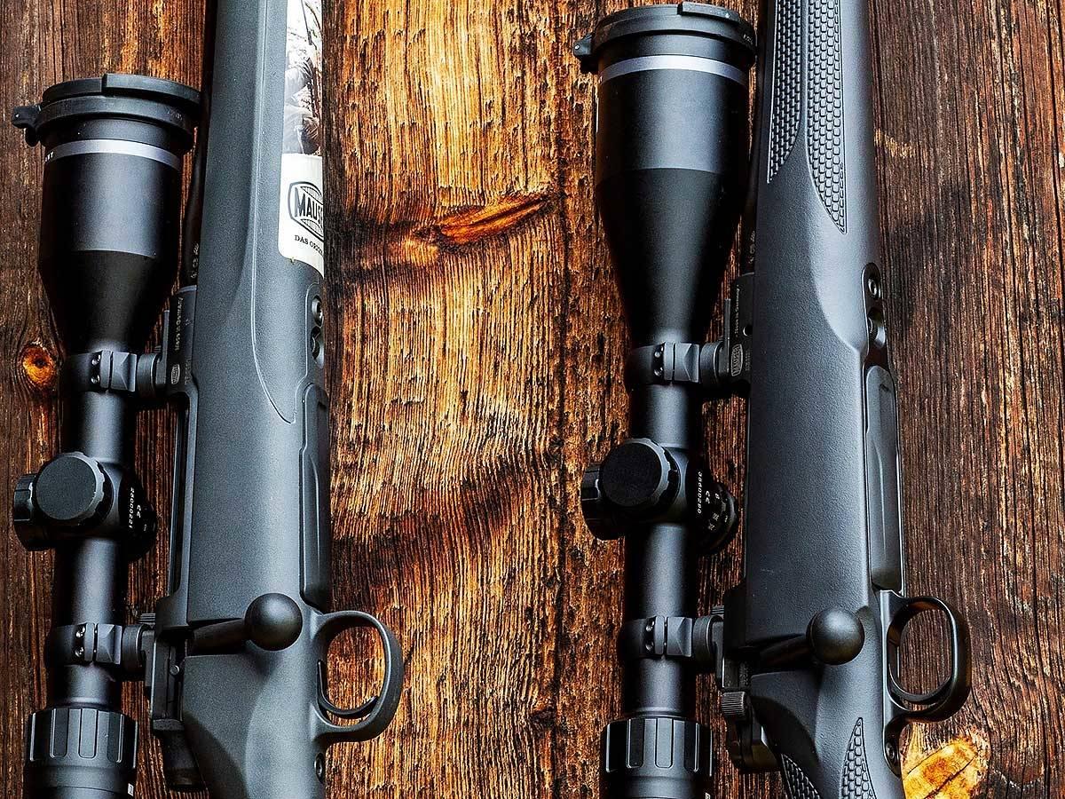 Test av Mauser M18 og Mauser M12