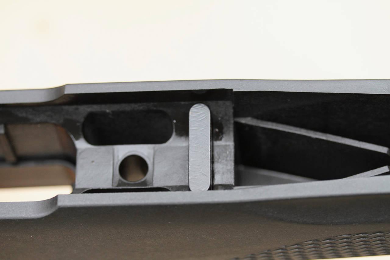 Godt bygd: Alle utgavene av Tikka T3X har rekylbolt av stål.
