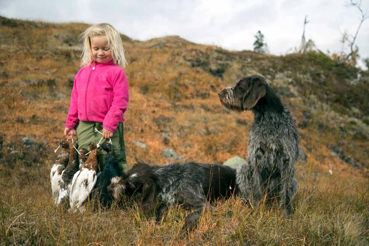 Jakt med barn