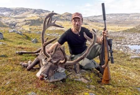 Villreinjakt reinsbukk JEGER-redaktør Åsgeir Størdal