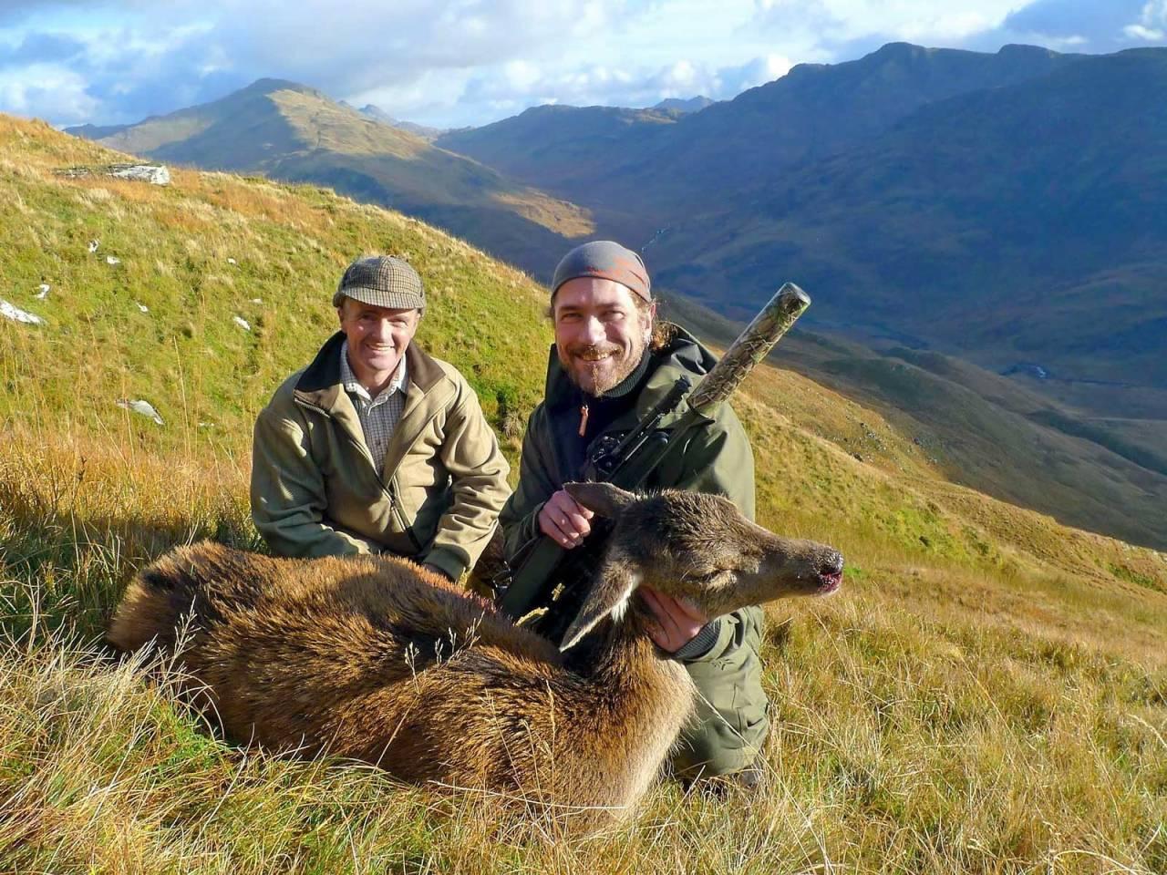 hjortejakt, Skottland, Åsgeir Størdal